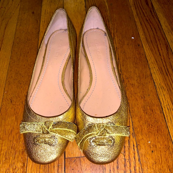 Gold Dorothy from Wizard of Oz Shoes